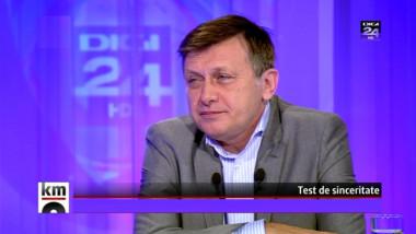 """Crin Antonescu la Digi24: Cine este astăzi liderul opoziţiei? """"Tot eu. Dar opoziţia nu e la guvern, e la putere"""""""