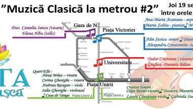 muzica clasica la metrou