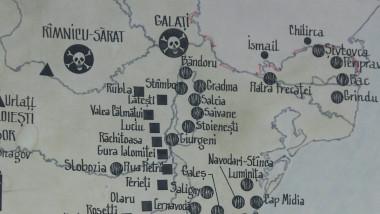 harta inchisori comuniste