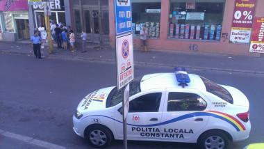 masina politie interzis