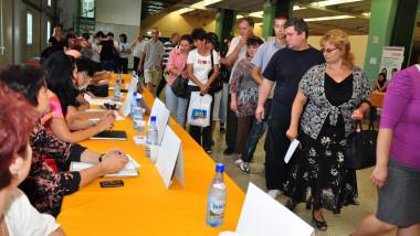somaj - participanti la o bursa a locurilor de munca - mfax