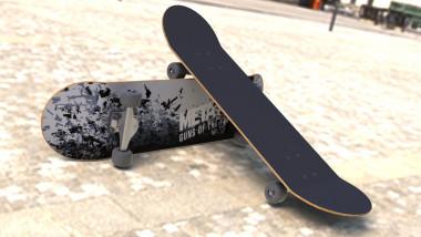 Second Skateboard by OpaGe