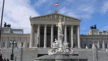 Austria Parlament Front