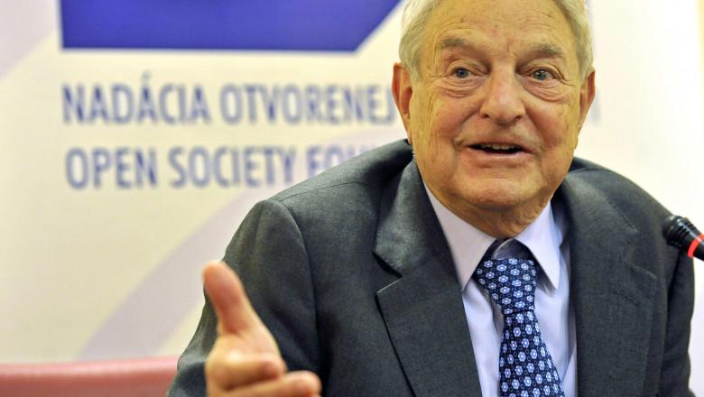 george soros 4636081-AFP Mediafax Foto-VLADIMIR BENKO