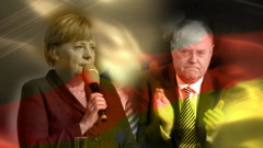 Angela Merkel Peer Steinbruck captura