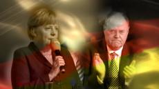 Angela Merkel Peer Steinbruck captura