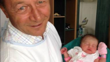 Traian Basescu cu Sofia Anais 2