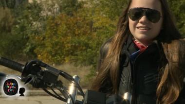 motocicleta fetita
