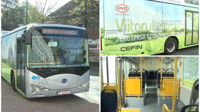 autobuz electric Timisoara colaj prima