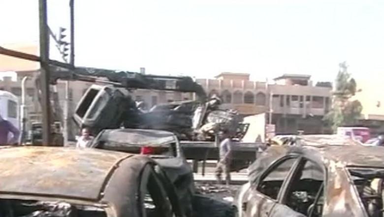 bomba masini irak