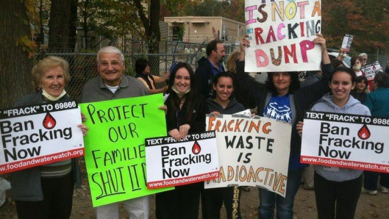 protest gaze sist ny frackdown facebook