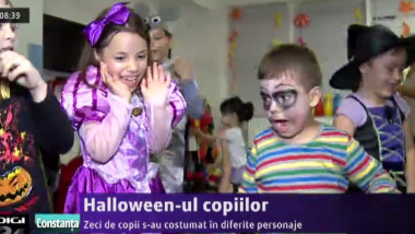 haloween copii