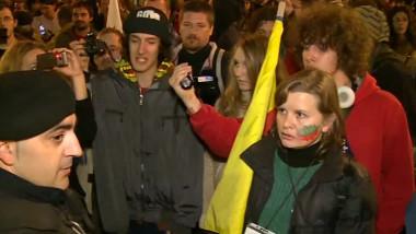 protest cu violente