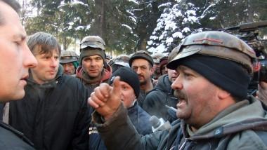 proteste mineri 3 - constantin jujan S - mfax