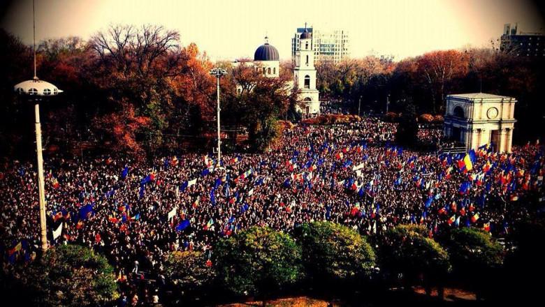 chisinau moldova protest