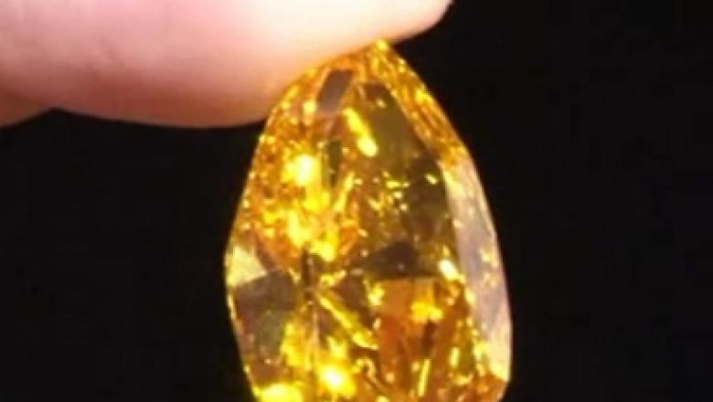 diamant portocaliu