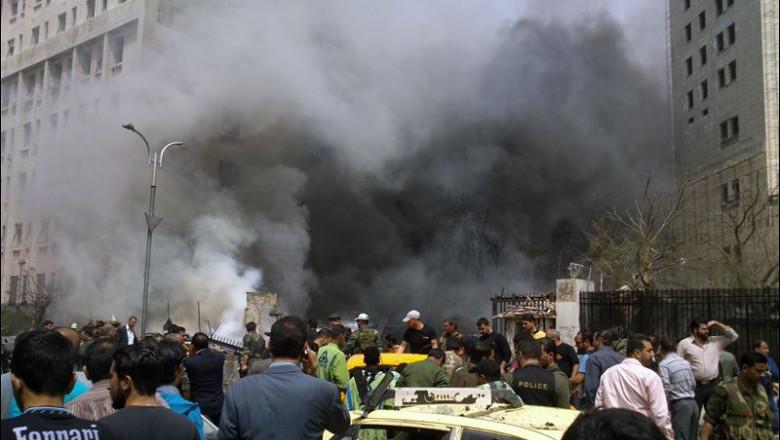 APTOPIX-Mideast-Syria-explosion