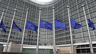 Berlaymont Comisia Europeana -AFP Mediafax Foto-GEORGES GOBET 1-1