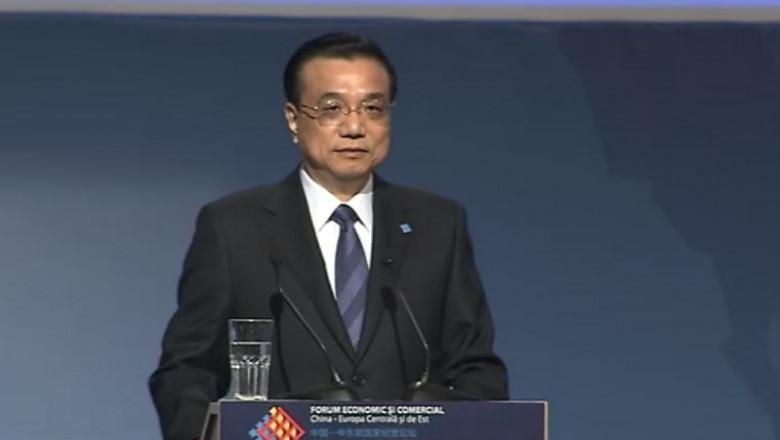 Li Keqiang premierul Chinei - captura