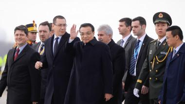 china plecare delegatie ponta mediafax aeroport 1