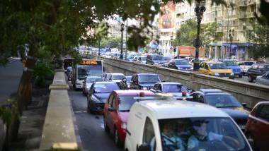 bucuresti capitala trafic circulatie auto 5793590-Mediafax Foto-Octav Ganea