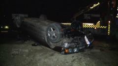 Accident cu un BMW prima