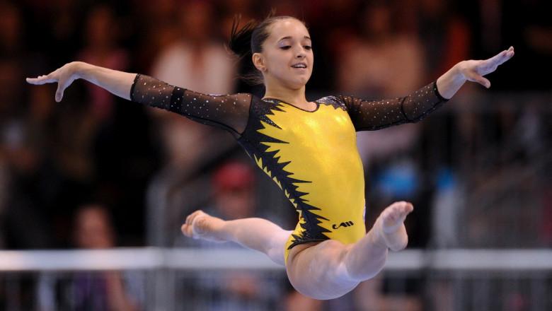 gimnastica - larisa iordache - solul victoriei euro 2012 - mfax