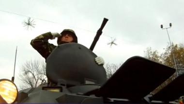 militar parada ziua nationala