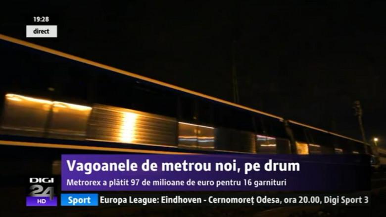 vagoane metrou