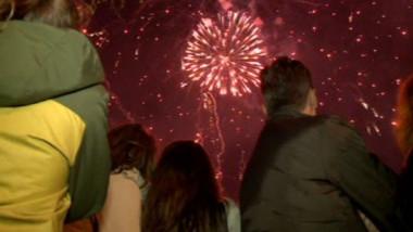 focul de artificii