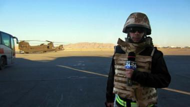 Laurentiu Radulescu Digi24 in Afganistan