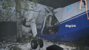 accident avion Belis judetul Cluj - Digi24 watermark 6 -1