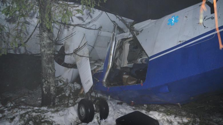 accident avion Belis judetul Cluj - Digi24 5 -2