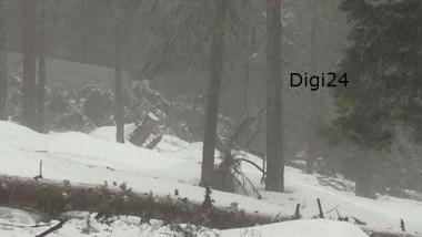 Primele imagini de dupa accident de avion Belis Cluj - digi24 11 1