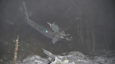 accident avion Belis judetul Cluj - Digi24 7