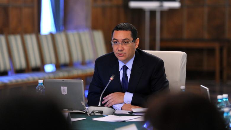 Victor Ponta sedinta de Guvern - gov-2.ro
