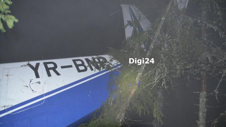 accident avion Belis judetul Cluj - Digi24 watermark 11