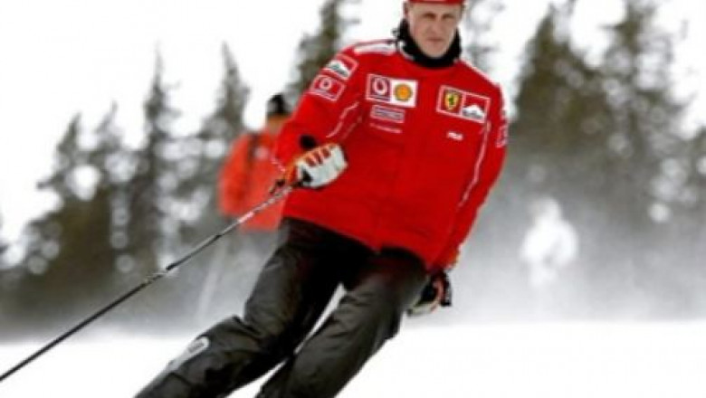 michael schumacher ski