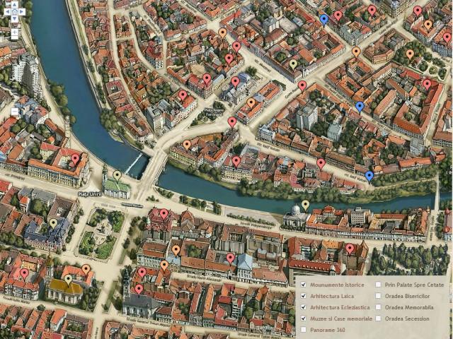 Hărți 3d Oradea Este Primul Oras Din ţară Care Are Pagină Web