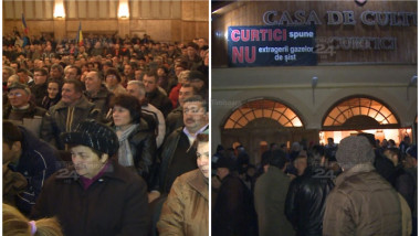 protest Curtici prima