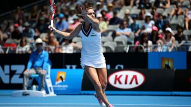 Simona Halep la Australian Open - ausopen.com