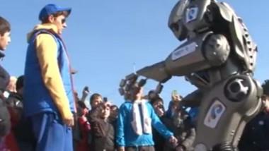 robot dans soci