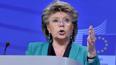 viviane reding crop comisarul european pentru justitie afp