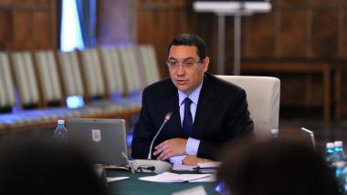 Victor Ponta sedinta de Guvern - gov.ro