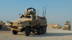 Caiman mine-resistant  ambush-protected vehicles in Iraq