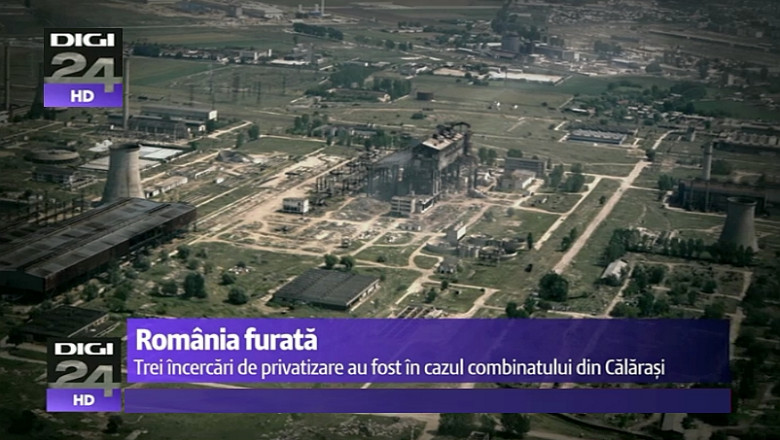 Romania Furată Combinatul Siderurgic Din Călărasi Siderca