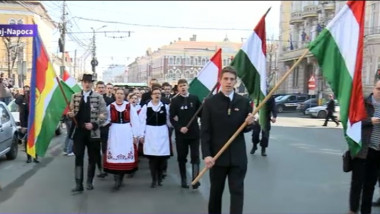 manifestatii cluj maghiari
