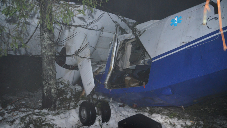 accident avion Belis judetul Cluj - Digi24 5 -1