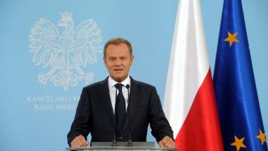 premierul polonez donald tusk afp