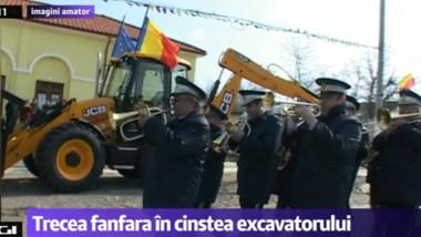 fanfara pentru excavator-1